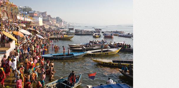 Варанаси и Алахабад, Индия