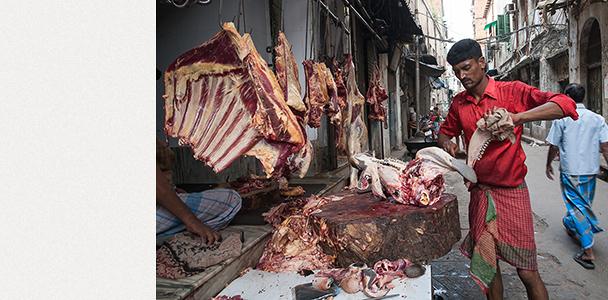 Kолката - пазари за месо